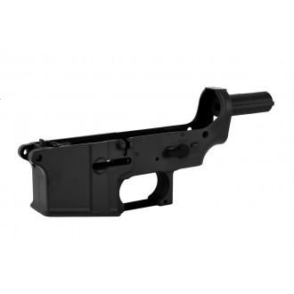 Golden Eagle M-147 Polymer M4 / M16 Airsoft Lower Receiver - BLACK
