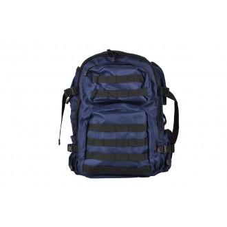 NcStar VISM Tactical MOLLE Backpack - Navy Blue w/ Black Trim