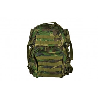 NcStar VISM Tactical Assault MOLLE Airsoft Backpack - Woodland