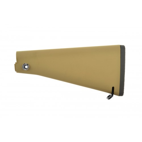Golden Eagle Fixed Polymer Full Length Rifle Stock - Tan