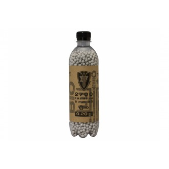 0.20G Elite Force Airsoft Precision Biodegradable BBs - 2700rd Bottle