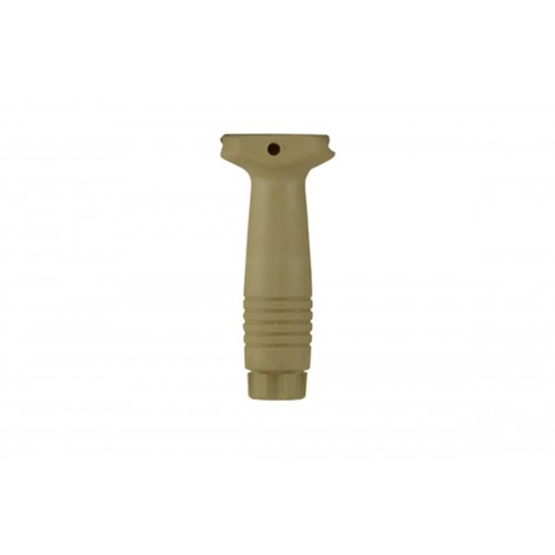 ZVD Arms Airsoft Ergonomic 20mm RIS Vertical Foregrip - TAN