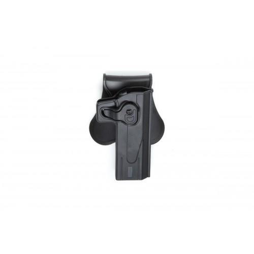 ASG Strike System Polymer Hi-Capa 5.1 Pistol Holster - BLACK