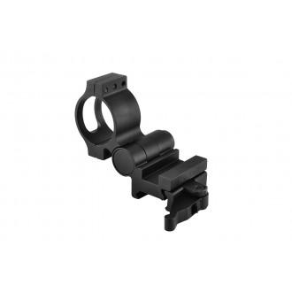 NcStar Flip-to-Side 30mm Magnifier Optics Mount w/ QD Picatinny Mount