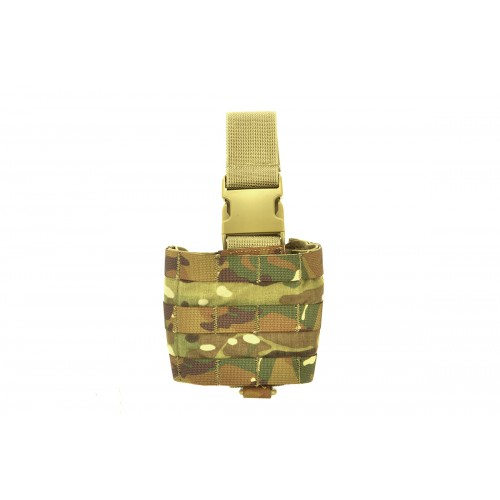 TMC Airsoft CORDURA Mini Modular Drop Leg Panel - MULTICAM
