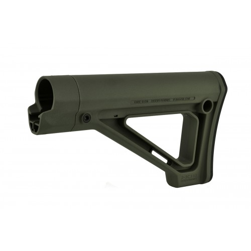 Magpul MOE Fixed Carbine Stock for MilSpec Airsoft Rifles - OD GREEN
