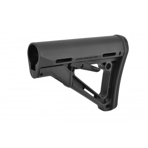 Magpul CTR Adjustable Carbine Stock w/ QD Sling Mount - GRAY