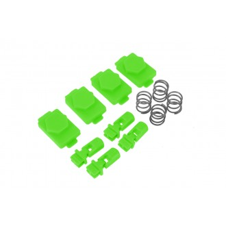 Hexmag Airsoft HexID Hexgon Latchplates Followers - ZOMBIE GREEN