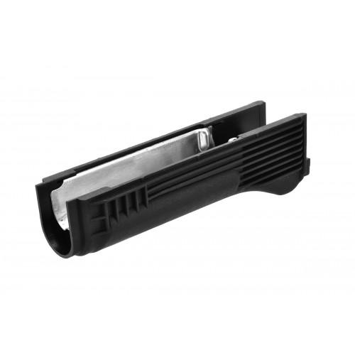 LCT Airsoft AK Series AEG Plastic Lower Handguard - BLACK