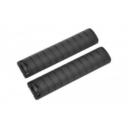 LCT Airsoft 15-Slot Handguard RIS Rail Cover Panels Set of 2 - BLACK