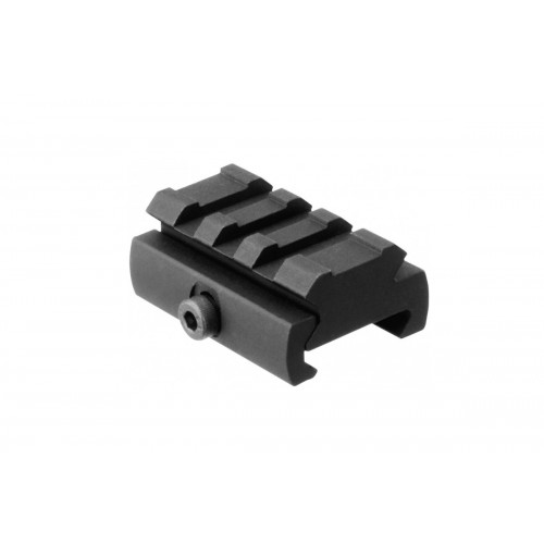 AIM Sports Picatinny Rail Riser Mount Low-Profile Adapter - BLACK