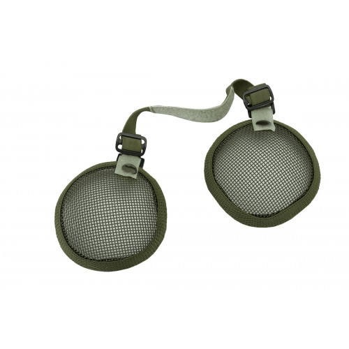 Valken Tactical 3G Wire Mesh Airsoft Ear Protector Set - OD GREEN