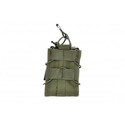 AMA 600D Single Rifle Magazine Pouch for M4/M16 Airsoft Guns - OD GREEN