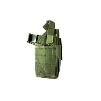AMA Airsoft Universal Drop Leg WrapLock Pistol Holster - OD