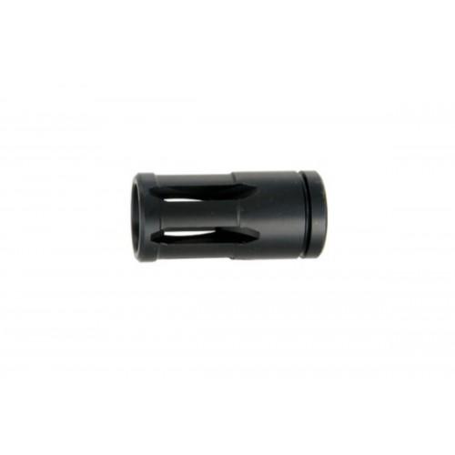 ICS MG-11 Airsoft Gun External Upgrade Parts Flash Hider - BLACK