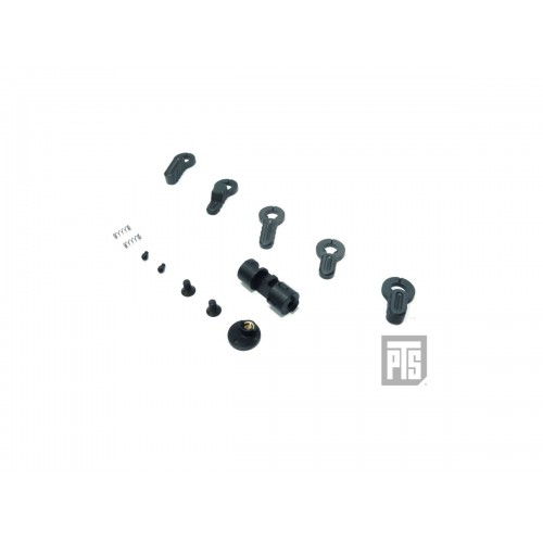 PTS Airsoft B.A.D GBBR Ambidextrous Ambi Safety Selector - BLACK