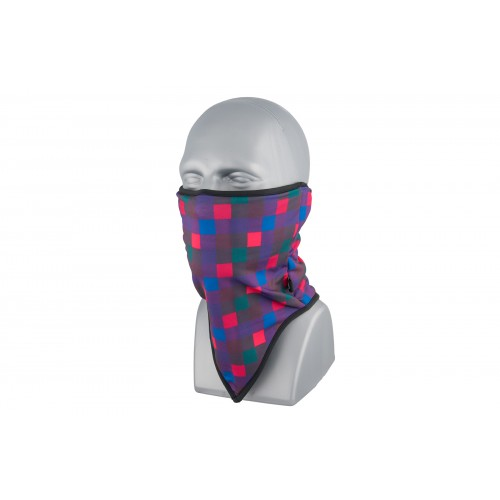 ZAN Headgear Airsoft Neck Gaiter Fleece - QUAD PLAID