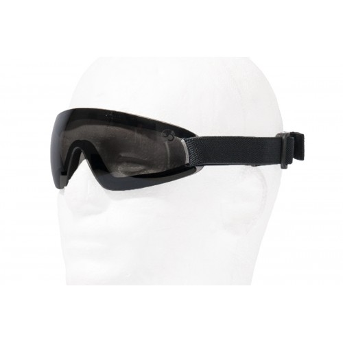 TMC Airsoft AC-375S Low Profile View Goggles - SMOKE GRAY