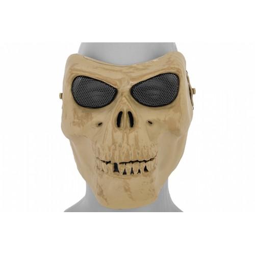 UK Arms Airsoft Gen 2 Mesh Skull Full Face Mask - SKELETON