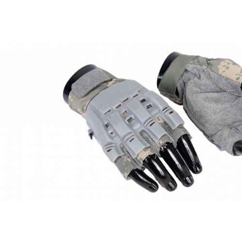 AMA Tactical Airsoft Finger Armored Small Gloves - ACU
