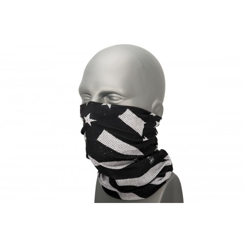 Zan Headgear Airsoft Motley Tube Polyester - BLACK & WHITE