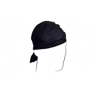 Zan Headgear Airsoft Cotton Headwrap Flydanna - BLACK