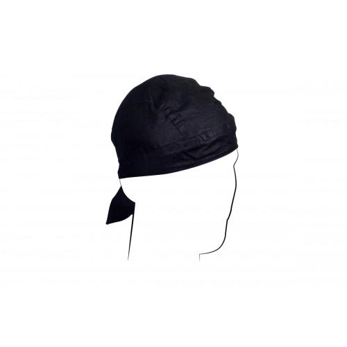Zan Headgear Airsoft Cotton Headwrap Flydanna - BLACK