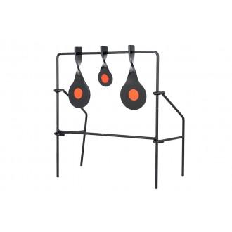 Allen Company Metal Spinner Target Set Medium - BLACK