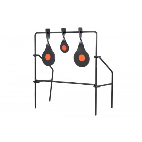 Allen Company Metal Spinner Target Set Medium - BLACK