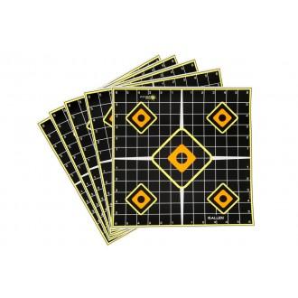 Allen Company EZ Aim Splash Target - Adhesive Grid - 5 pack