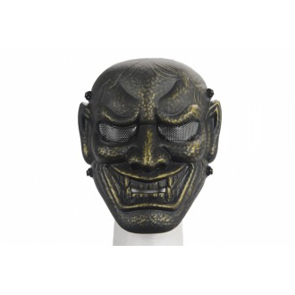 UK Arms Airsoft AC-315AB Wisdom Full Face Mask - ANCIENT BRONZE