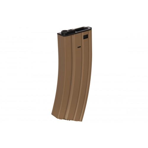 Cybergun SCAR-L AEG 450 Round Wind-Up Magazine - TAN