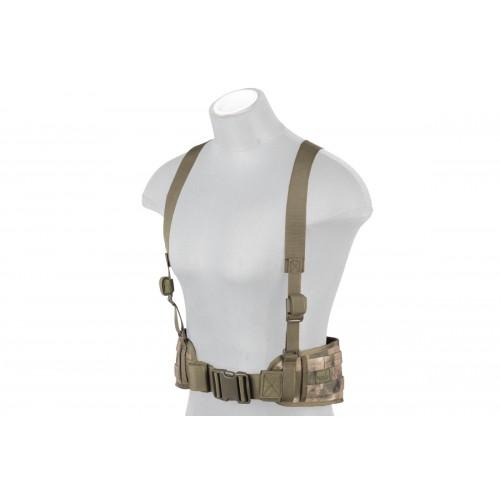 Lancer Tactical Low Profile MOLLE Harness Battle Belt - AT-FG