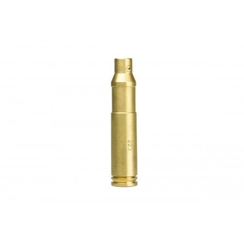 NcStar .223 Light Brass Cartridge Red Laser Bore Sighter