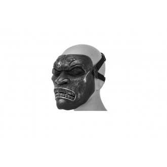 UK Arms Airsoft Persian Immortal Full Face Mask - SILVER BLACK