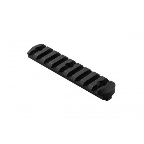 NcStar M-LOK Tactical Picatinny Rail Medium - BLACK