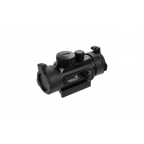 Lancer Tactical CA-412BN Red & Green Dot 1X Scope - BLACK