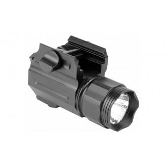 AIM Sports 220 Lumens Compact Flashlight w/ Quick Release Mount