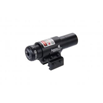 Lancer Tactical Metal Red Laser Aiming Dot Sight - BLACK