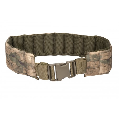 Lancer Tactical Airsoft Tactical Quick Release MOLLE Belt - DIGITAL WOOD