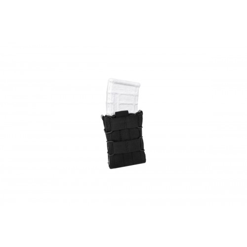 AMA Tactical Cross Modular Universal MOLLE Rifle Magazine Pouch - BLACK