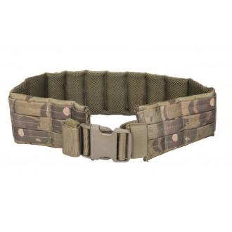 Lancer Tactical Airsoft MOLLE QR Battle Belt - CAMO TROPIC
