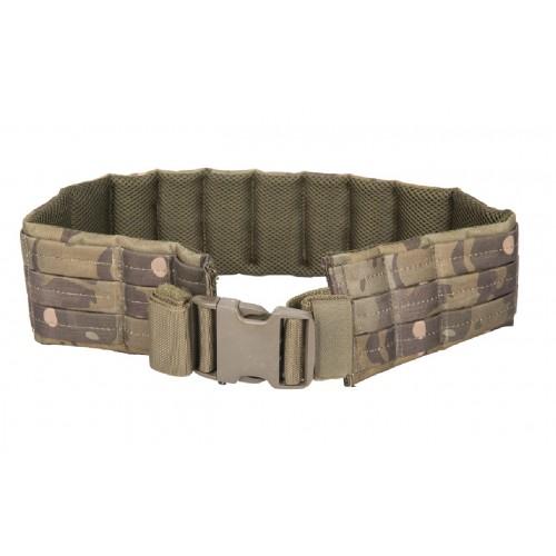 Lancer Tactical Airsoft MOLLE QR Battle Belt - CAMO TROPIC