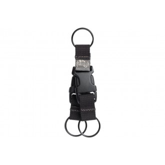 Maxpedition Tritium High Quality Nylon Key Ring - BLACK