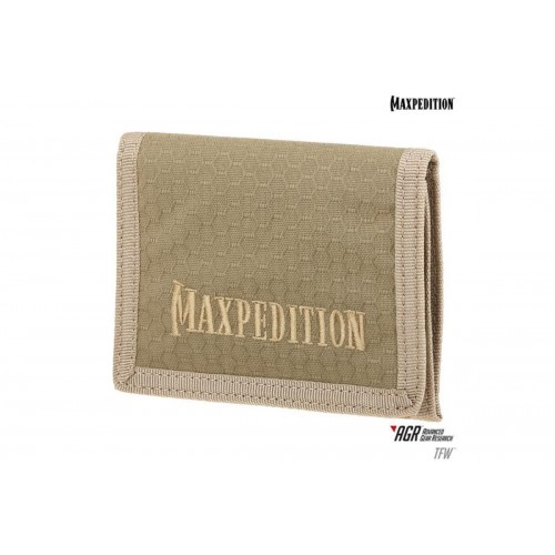 Maxpedition BFW Triple Nylon Slim Tri-Fold Wallet - TAN
