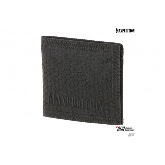 Maxpedition BFW Triple Nylon Slim Bi-Fold Wallet - BLACK