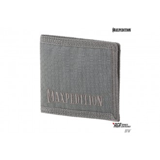 Maxpedition BFW Triple Nylon Slim Bi-Fold Wallet - GRAY