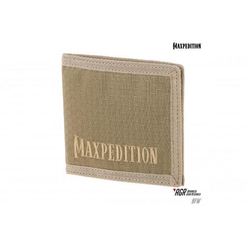 Maxpedition BFW Triple Nylon Slim Bi-Fold Wallet - TAN