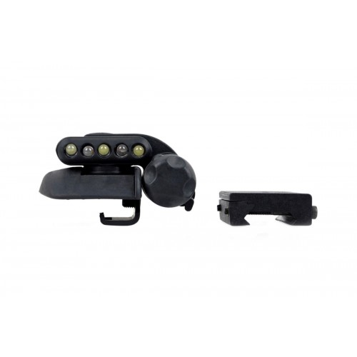 Element Tactical Airsoft Helmet Light Set Gen 2 - BLACK