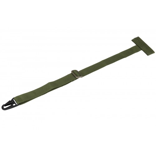 AMA Tactical MOLLE Attachment Sling w/ Buckle Clip - OD GREEN